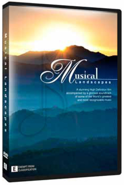 Musical Landscapes - Nature's Colours on DVD