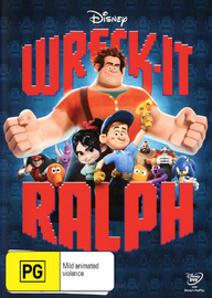 Wreck-It Ralph on DVD