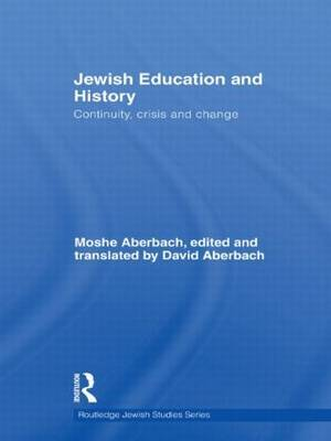 Jewish Education and History by Moshe Aberbach image