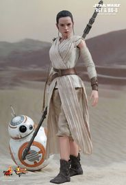 "Star Wars: The Force Awakens - 12"" Rey & BB-8 Figure Set"