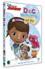 Doc McStuffins: Pet Vet on DVD image
