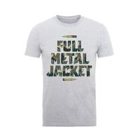 Full Metal Jacket: Camo Bullets T-Shirt (Medium)