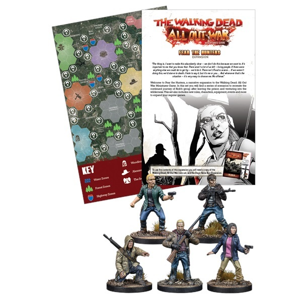 The Walking Dead: Fear The Hunters Expansion