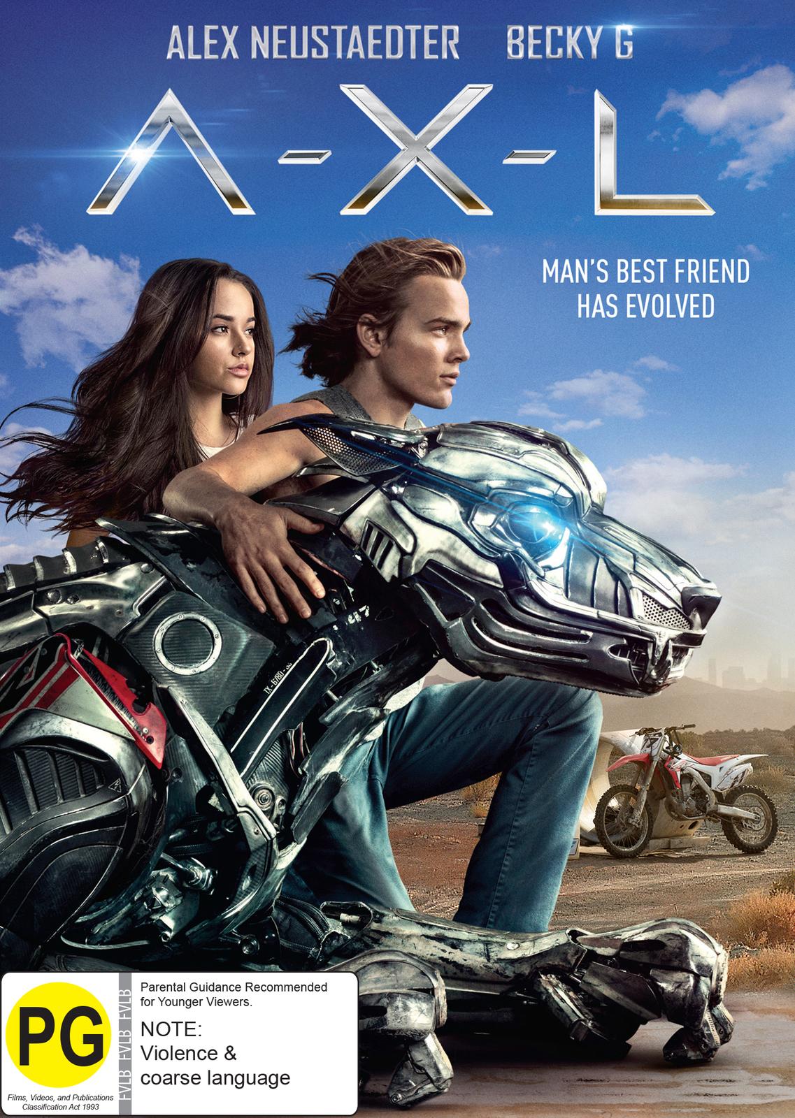AXL on DVD image