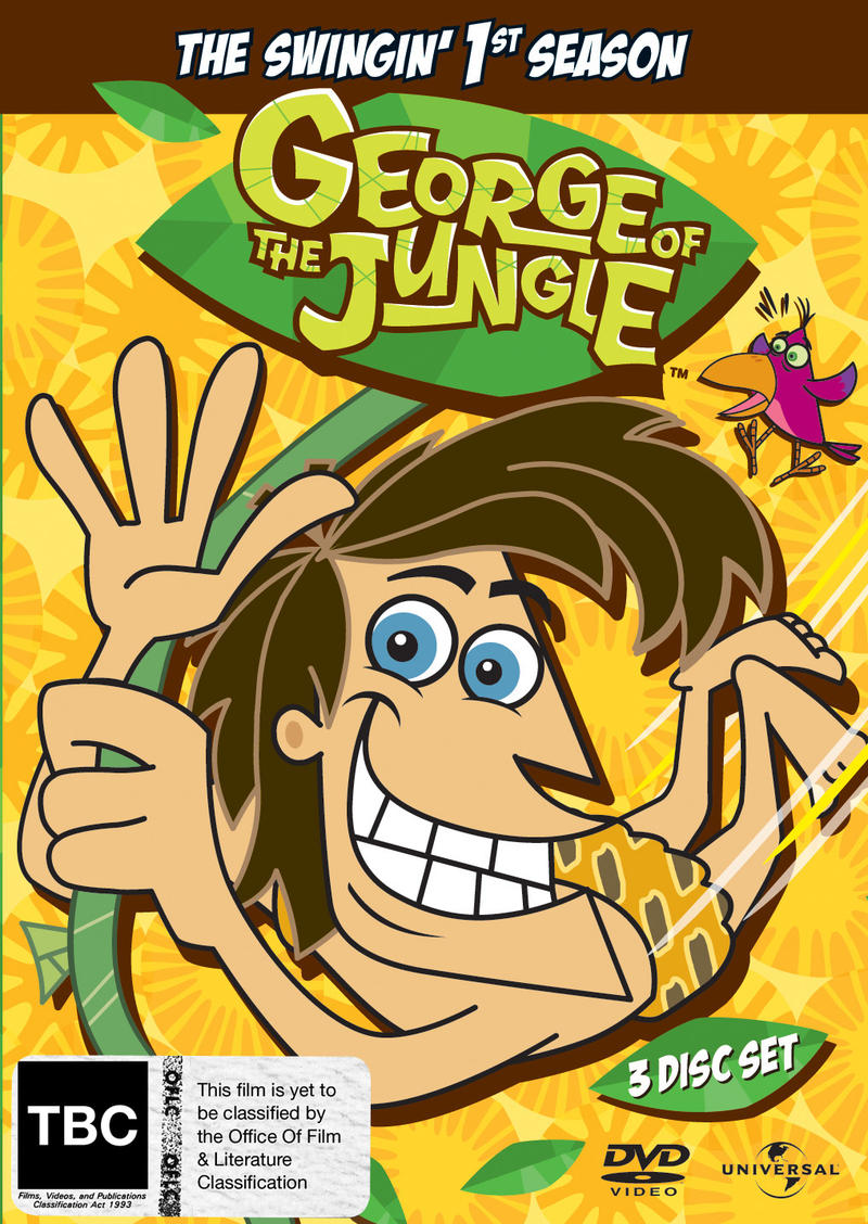 George Of The Jungle - Season 1 - Vol. 1 - 3 (3 Disc Set) on DVD image