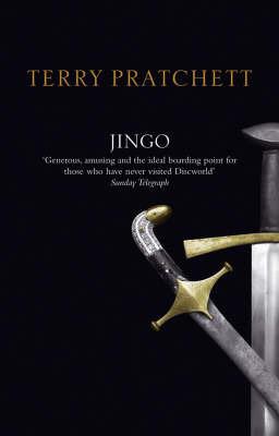 Jingo (Discworld - City Watch) (black cover) by Terry Pratchett