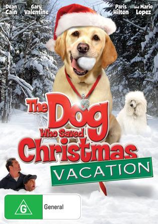 The Dog Who Saved Christmas Vacation on DVD
