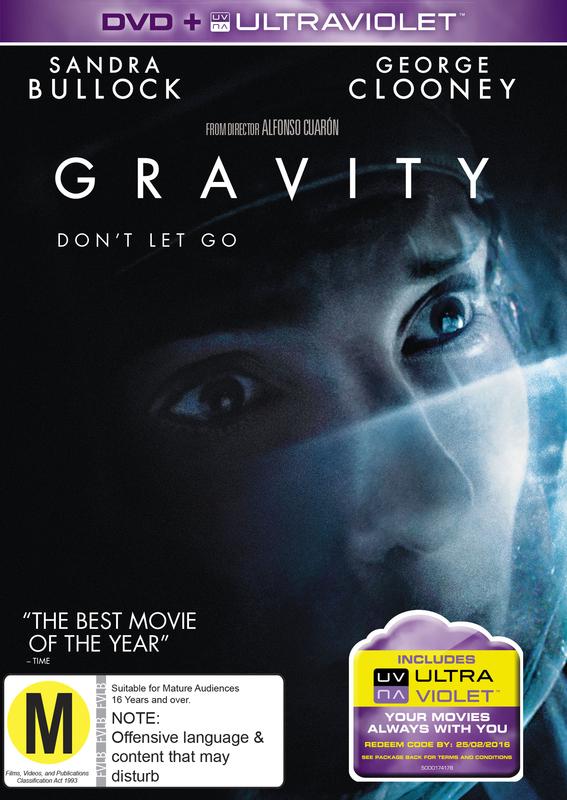 Gravity on DVD