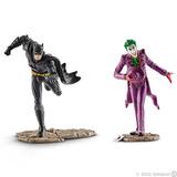 Schleich: Batman vs The Joker Scenery Pack