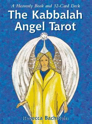 The Kabbalah Angel Tarot: A Heavenly Book and 32 Card Set by Rebecca Bachtein image