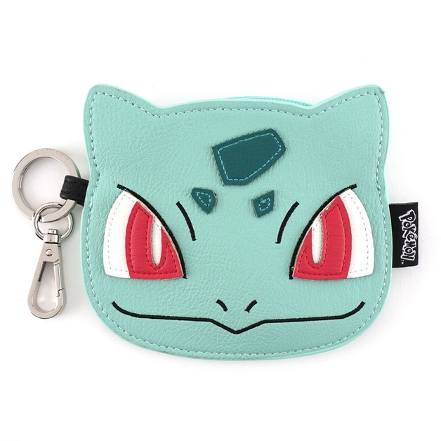 Loungefly Pokemon Bulbasaur Face Coin Bag