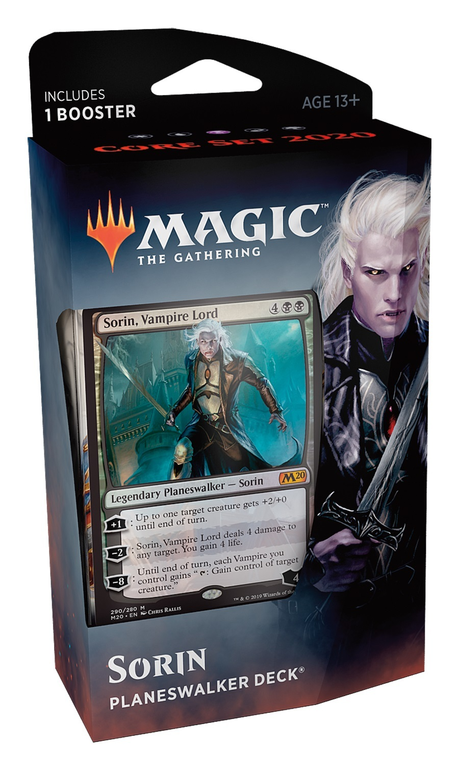 Magic The Gathering: Core Set 2020 Sorin Planeswalker Deck image