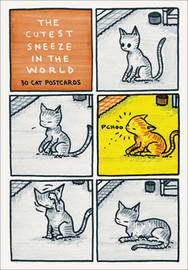 Cutest Sneeze in the World Postcard Box by Jeffrey Brown