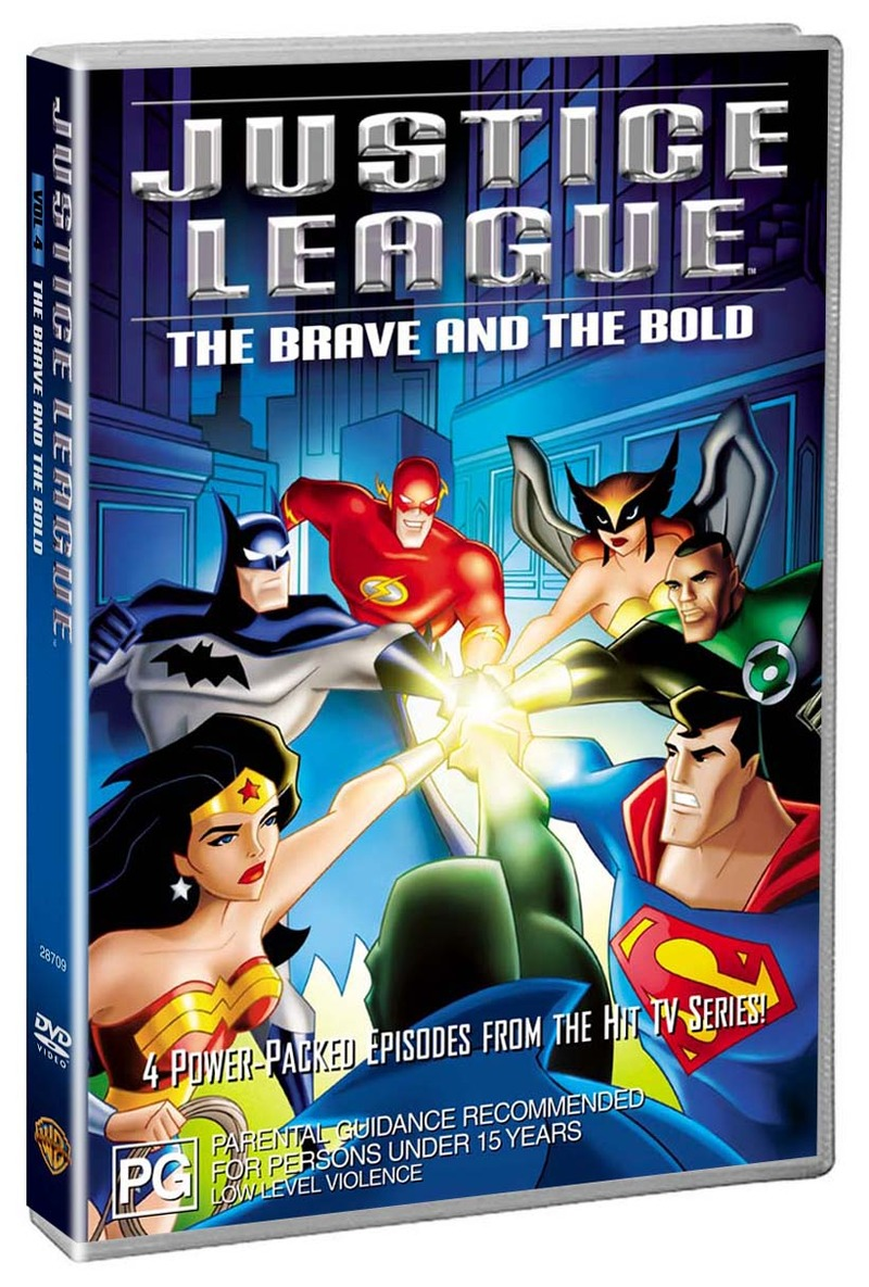 Justice League - The Brave And The Bold on DVD image