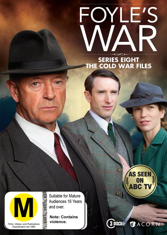 Foyle's War - Season 8 (3 Disc Set) on DVD