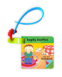 Little Peekaboo Buggy Buddies: Red, Blue, Peekaboo! image