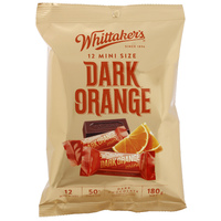 Whittaker's Dark Orange Mini Slabs