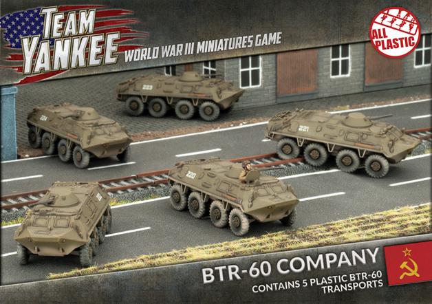 Team Yankee: BTR-60 Transport Platoon (Plastic)
