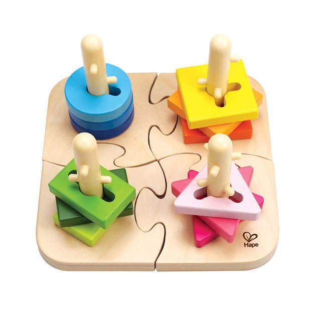 Hape: Creative Peg Puzzle