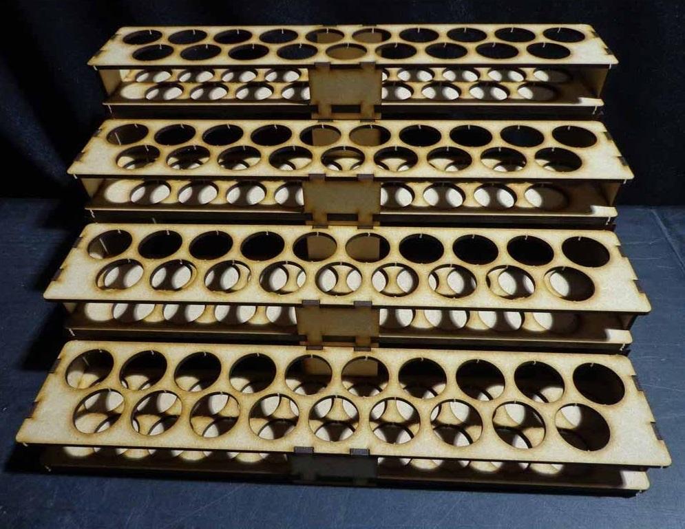 TTCombat: Mega Paint Rack - Vallejo (76 Pots) image