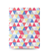Filofax: A5 Notebook - Geometric
