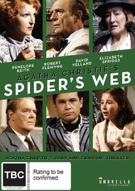 Agatha Christie's Spiders Web on DVD image