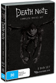 Death Note - Movie 1 & 2 Collection (2 Disc) on DVD image
