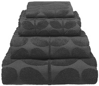 Orla Kiely Sculpted Stem Bath Sheet - Slate image