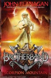 Brotherband Scorpion Mountain by John Flanagan