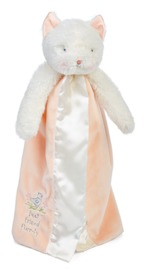 Bunnies By The Bay: Buddy Blanket Pink Cat - Purr-ty