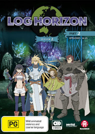 Log Horizon: Season 2 - Part 2 (Episodes 14-25) on DVD