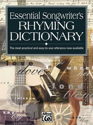 Essential Songwriter's Rhyming Dictionary by Kevin M. Mitchell image
