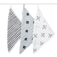Aden + Anais: Washcloths - Lovestruck (3 Pack)
