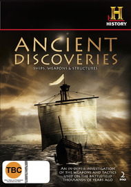 Ancient Discoveries: Ships, Weapons & Structures (2 Disc Set) on DVD