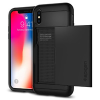 Spigen: Slim Armor CS Case for iPhone XS Max - Black