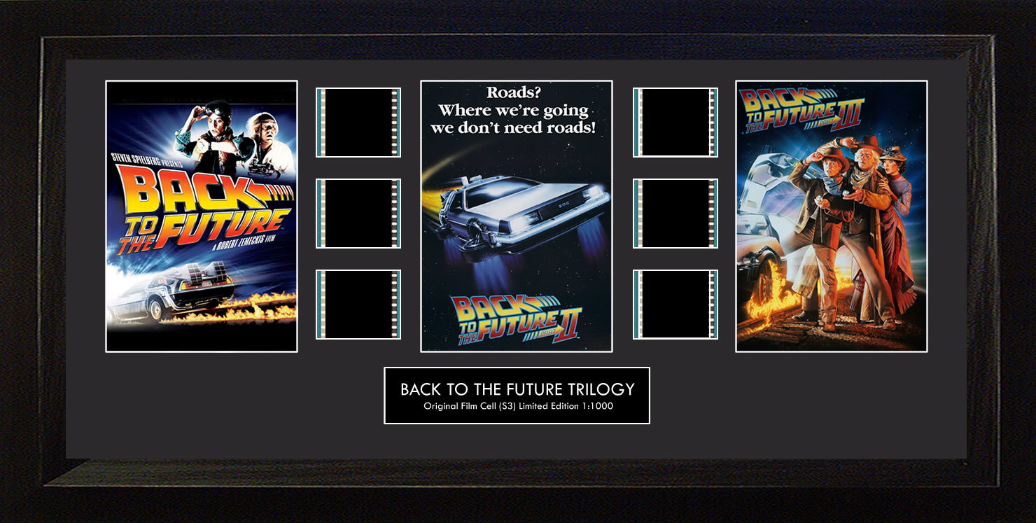 FilmCells: Montage Frame - Back to the Future Trilogy (Limited Edition) image