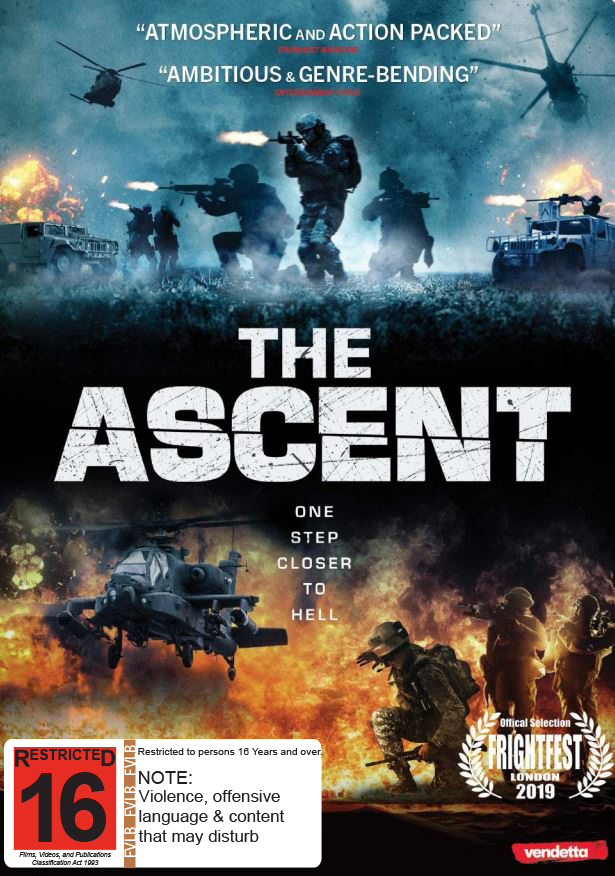 The Ascent on DVD image