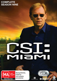 CSI Miami - Season 9 on DVD