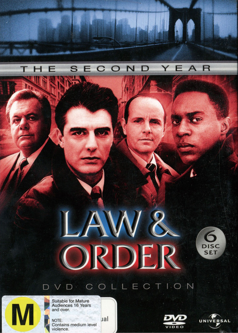 Law & Order - The 2nd Year DVD Collection (6 Disc Slimline Set) on DVD image