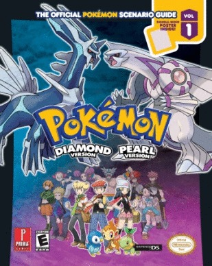Pokemon Diamond & Pearl Prima Official Game Guide