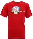 One Piece: Tony Tony Chopper & Zipper T-Shirt - XL