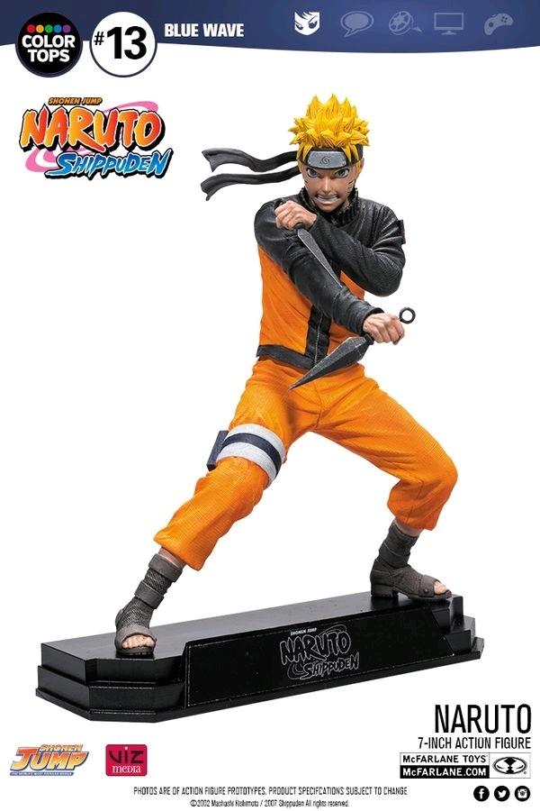 """Naruto Shippuden: Naruto - 7"""" Action Figure image"""