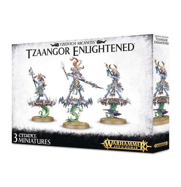 Age of Sigmar: Tzeentch Arcanites Tzaangor Enlightened