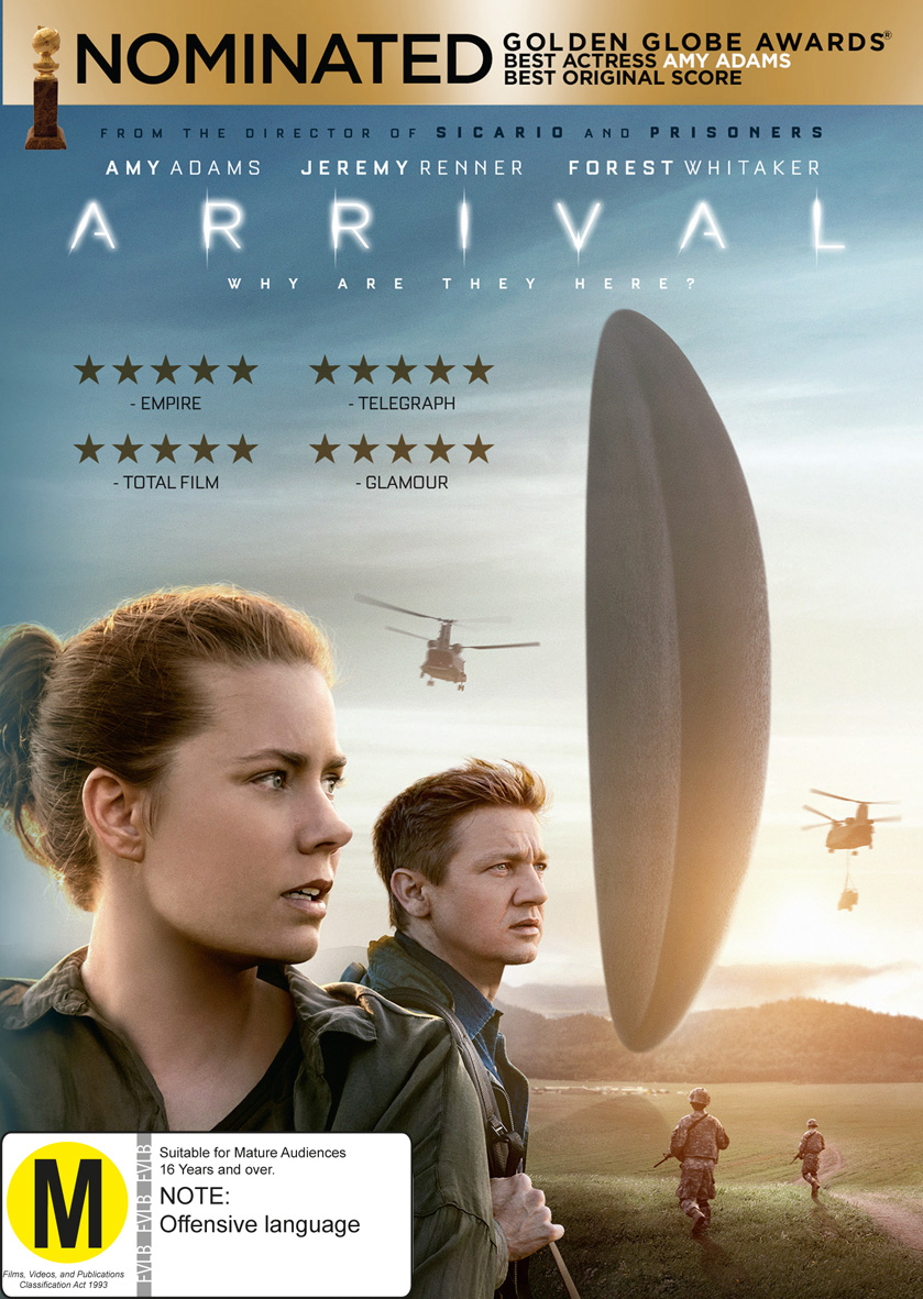 Arrival on DVD image