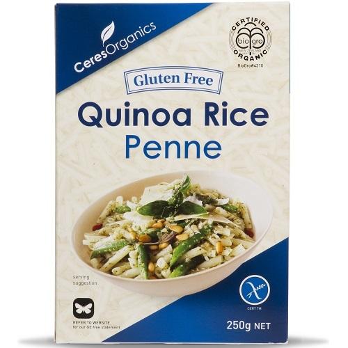 Ceres Organics Quinoa Rice Penne Pasta (250g)