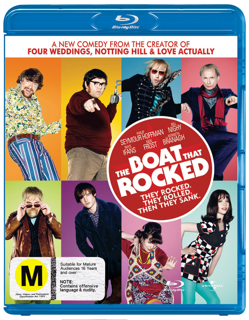 The Boat That Rocked on Blu-ray image