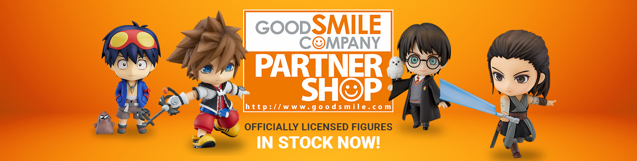 We're a Good Smile Company Partner Shop!