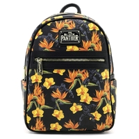 Loungefly: Black Panther - Floral Mini Backpack