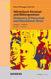 Dictionary of Personnel and Educational Terms: English-German/German-English by R. O'Flanagan image