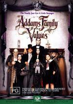 Addams Family Values on DVD